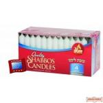 4 Hour European Shabbos Candles - 72 Pk
