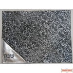 Leather Challah Cover Style PC200BK-SI