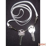 Shabbos Key Belt (Bendle) - White