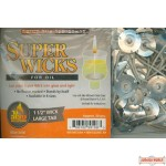 """Super Wicks 1 1/2"""" wick with large tab"""