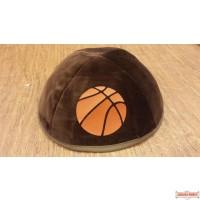 Yarmulka with basketball