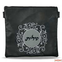 Leather Talis or/and Tefillin Bag(s) Style 260 BK