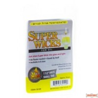 """Super Wicks 1 1/2"""" wick with small tab"""
