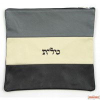 Leather Talis or/and Tefillin Bag(s) Style 360 BK
