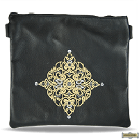 Leather Talis or/and Tefillin Bag(s) Style 430 Black