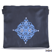 Leather Talis or/and Tefillin Bag(s) Style 430 Navy