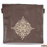 Leather Talis or/and Tefillin Bag(s) Style 430 Brown