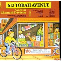 613 Torah Ave. #5, Songs For Chumash Devorim C.D.