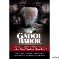 """The Gadol Hador, An Inside Glimpse of Maran HaGaon HaRav Yosef Shalom Elyashiv, zt""""l"""