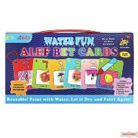 Water Fun Alef Bet Cards