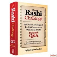 The Rashi Challenge, Test Your Knowledge of Rashi's Commentary with the Ultimate Parashah Q&A