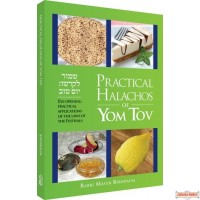 Practical Halachos of Yom Tov, Eye-Opening Practical Applications of the Laws of the Festivals