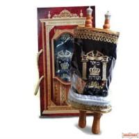 Medium Sefer Torah Velvet Cover Alef Beit