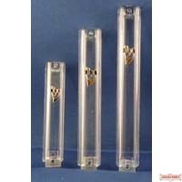 Acrylic Mezuzah Case - 12cm