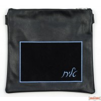 Leather Talis or/and Tefillin Bag(s) Style B240 Blue
