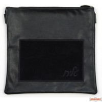 Leather Talis or/and Tefillin Bag(s) Style B240 Black