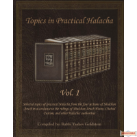 Topics in Practical Halacha #1