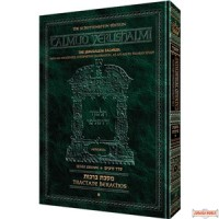 Schottenstein Edition Talmud Yerushalmi - Tractate Shevi'is Volume 2