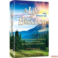 A Life of Bitachon, Stories & insights – connecting with Hashem through faith & trust