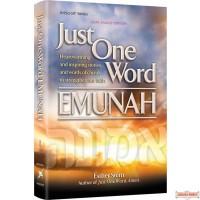 Just One Word - Emunah