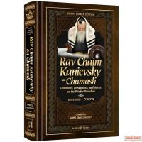 Rav Chaim Kanievsky on Chumash #1 Bereishis