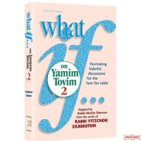 What If…on Yamim Tovim #2, Fascinating halachic discussions for the Yom Tov table