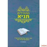 Maschilim Tanya  Chapters 1-12 - מתחילים תניא פרקים א-יב