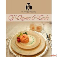 Of Thyme & Taste Cookbook