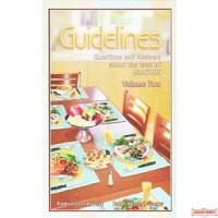 Guidelines, Laws of Brachos, Volume 2