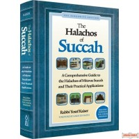 The Halachos of Succah, Comprehensive Guide to Halachos of Mitzvas Succah & their Practical Applications