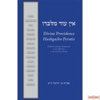 Ein Od Milvado: Divine Providence, Hashems Intimate Involvement In Our Daily Lives As Discussed By Chazal