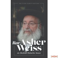 Rav Asher Weiss On Medical Halachic Issues