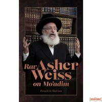 Rav Asher Weiss on Moadim, Pesach To Shavuos