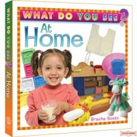 What Do You See At Home - Children's Board Book