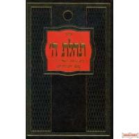 Hebrew Siddur Tehilas Hashem with Tehillim - Large (Israeli Print)