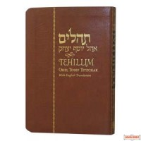 Tehillim Ohel Yosef Yitzchak with English Translation, Flexi Cover, Compact Edition