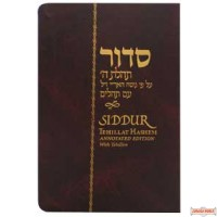 Siddur Tehillas Hashem with Tehillim -all Hebrew with English instructions