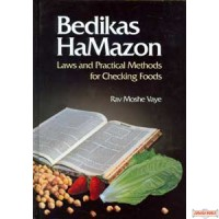 Bedikas HaMazon, Laws and Practical Methods for Checking Foods