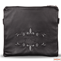 Leather Talis/Tefillin Bags Style C170 BK