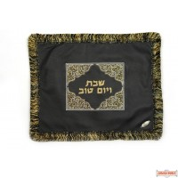 Leather Challah Cover style CC410BK