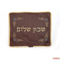 Leather Challah cover style cc520bg