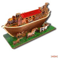 Children's Coin Bank - Noah's Ark - Do It Yourself Kit