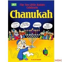 10 Little Rabbis Celebrate Chanukah Coloring Book