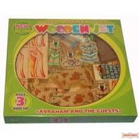 'Torah Stories' Series Wooden Set