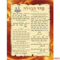 סדר הבדלה Havdala Laminated Poster