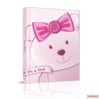 It's a Girl Baby Record Book