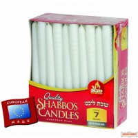 7 Hour European Shabbos Candles - 30 Pk