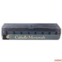 Blue Candle Menorah