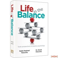 Life In The Balance, Torah Perspectives on Positive Psychology