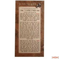 Rabbeinu Tam Laminated Card